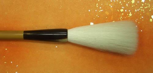【豊橋筆】『東皇(6分)』細光鋒 純羊毛 高級筆 榊原忍 書道用品