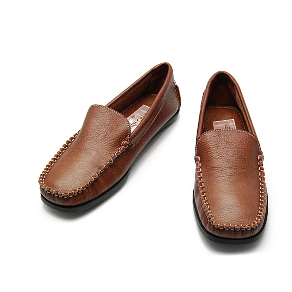 BATH ONLINE SHOP | Rakuten Global Market: CO6002-40 color and size selection! Classic mokacinloafer (cute ladies fashion women's loafers nejre shoes shoes fashion cute moccasin Brown tea adult Opera shoe store Rakuten) 10P24Oct15