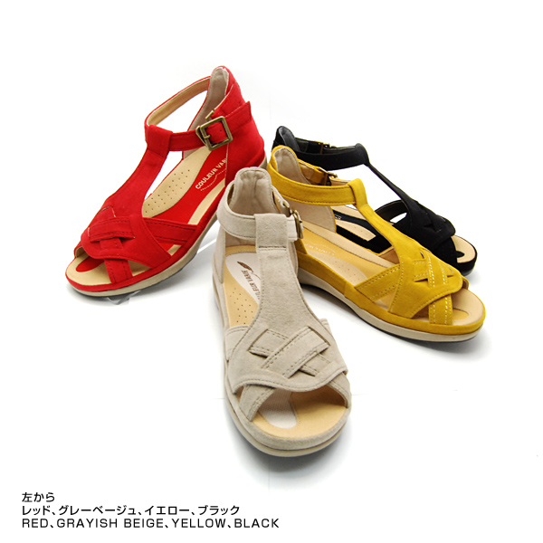 It is 歩 るける walking sandal in No. 274210/T strap and walking sole well. 10P03Dec16