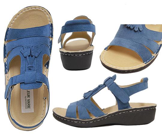 Casual Sandals no.767/ machine washable. Tassel style decoration which was cute. Convenient Velcro strap! fs04gmapap8 10P03Sep16