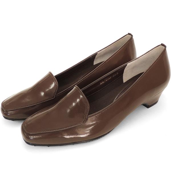 09bde1e3c Simple RAM pumps that fit the No.12902br  suit. Elegant design of the  skwaretu. Enamel material is fashionable! (Women s women s pumps shoes  fashionable ...