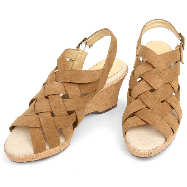 No.444210 Kroll Barrie wedge Sandals soft insole too! Huarache 10P19Dec15 (ladies fashion ladies Sandals dress Sandals you sell cute mesh breathable cool resort 22 cm 23 cm 24 cm cute adult store Rakuten)