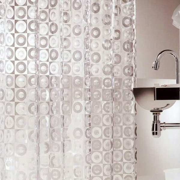 Made In Japan Disks Shower Curtain 180 X 120 Cm
