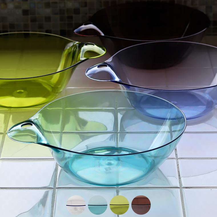 使ったら引っ掛けてカラリと乾く 商品 アクリルのような透明感が魅力の洗面器 湯おけ カラリ HG 洗面器 日本製 国産 引き出物 洗面桶 ウォッシュボール おしゃれ 透明 あす楽 ウォッシュボウル クリア 風呂桶 シンプル バスグッズ