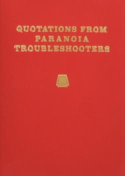 9 25限定 店内全品P3倍 パラノイア トラブルシューターズ リトル レッド Troubleshooters 贈答 From Quotations 日本語版 (人気激安) ブック Paranoia