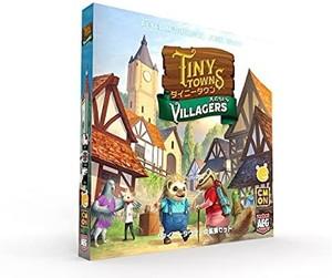 タイニータウン 拡張:民のちから 2020秋冬新作 日本語版 Villagers Tiny Towns: 割り引き