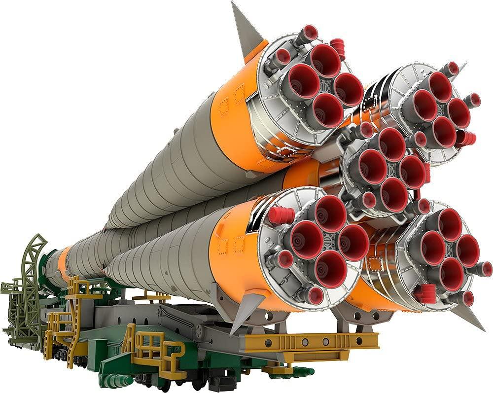 9 25限定 店内全品P3倍 メーカー再生品 2021年12月予約 再販 1 70%OFFアウトレット MODEROID ソユーズロケット+搬送列車 150