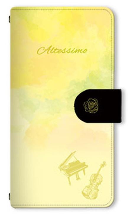 9 信頼 25限定 店内全品P3倍 アイドルマスター SideM Altessimo ブランド買うならブランドオフ デザイン03 ブックスタイルスマホケース Mサイズ