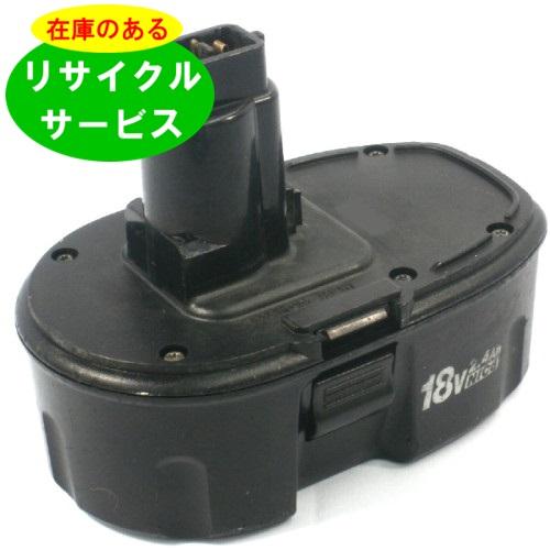★安い★在庫有り 【DE9096】DEWALT用 18Vバッテリ- [在庫リサイクル]