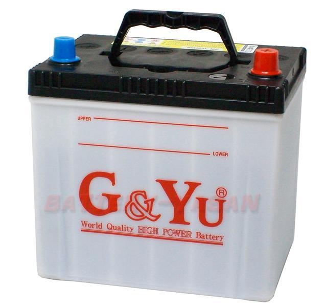 G&Yu バッテリー 80D23Lecobaシリーズ【充電制御車対応】