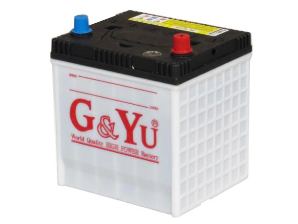 G&Yu バッテリー 50D20Lecobaシリーズ【充電制御車対応】