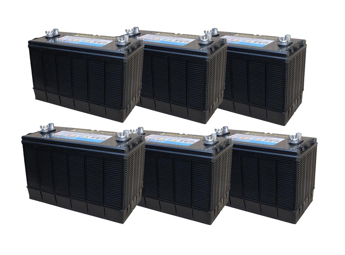 G&Yu[ジーアンドユー] 新ディープサイクルバッテリー G'cle31M-spec《お得な6個セット》(ACデルコ M31MF互換) 高品質・長寿命グレードアップ版
