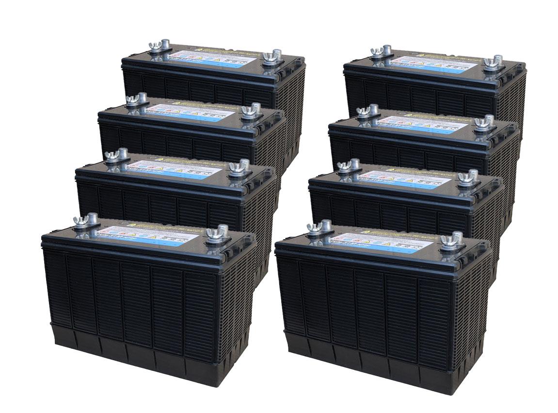 G&Yu[ジーアンドユー] 新ディープサイクルバッテリー G'cle31M-spec《お得な8個セット》(ACデルコ M31MF互換) 高品質・長寿命グレードアップ版
