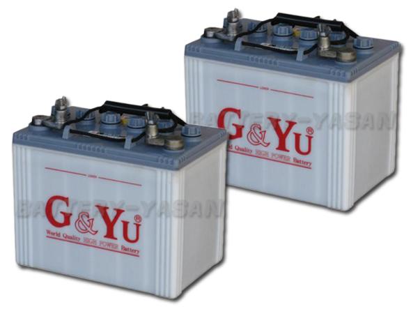 G&Yu バッテリー EB-50 (12V) 《お得な2個セット》