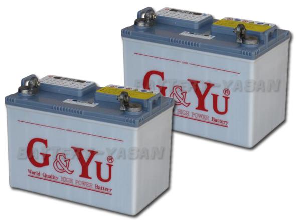 G&Yu バッテリー EB-65 (12V) 《お得な2個セット》