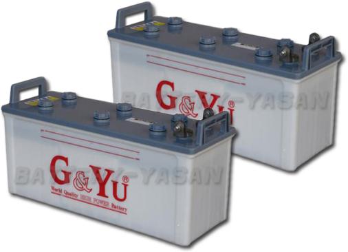 G&Yu バッテリー EB-130 (12V) 《お得な2個セット》