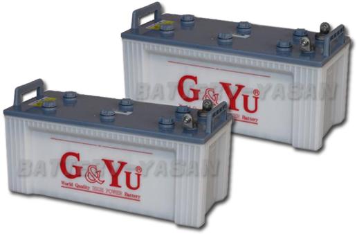 G&Yu バッテリー EB-160 (12V) 《お得な2個セット》