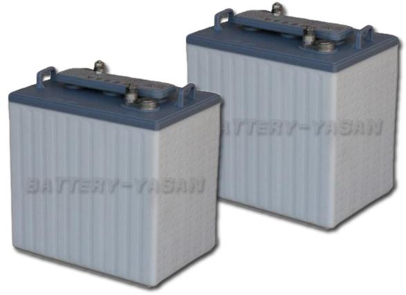 G&Yu バッテリー GC2-105 (6V) 《お得な2個セット》