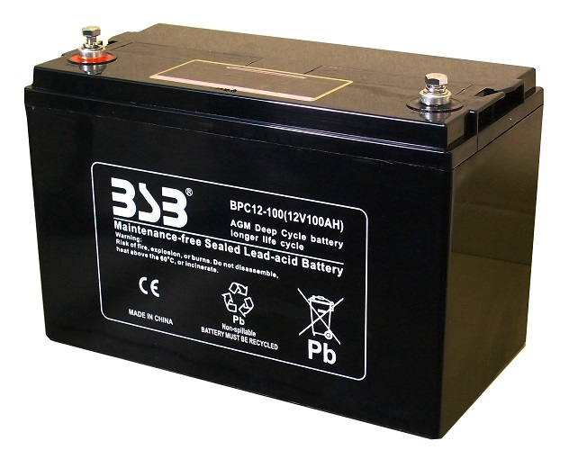 G&Yu バッテリー BPC12-100 完全密閉型ディープサイクル用
