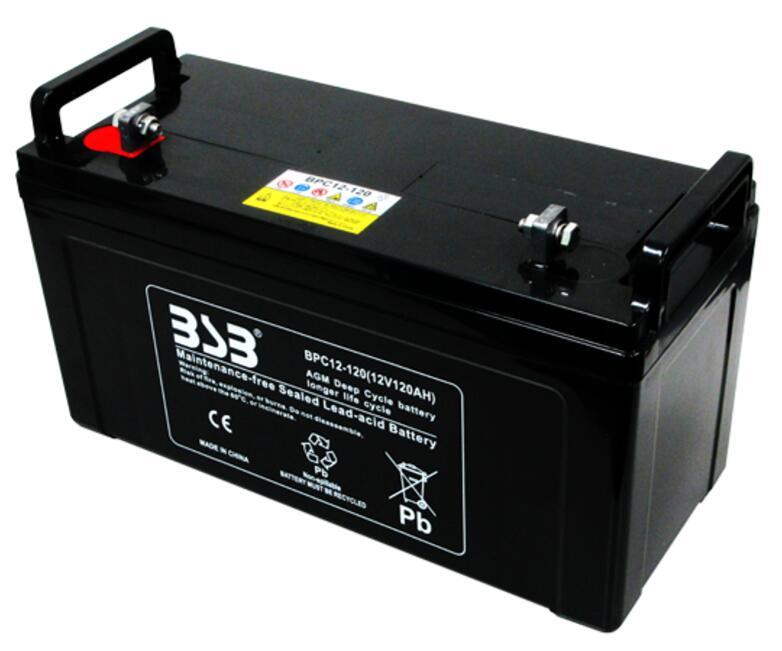G&Yu バッテリー BPC12-120 完全密閉型ディープサイクル用