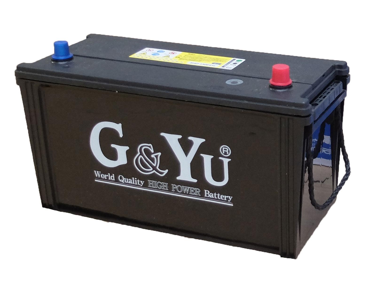 G&Yu バッテリー SHD-130E41L