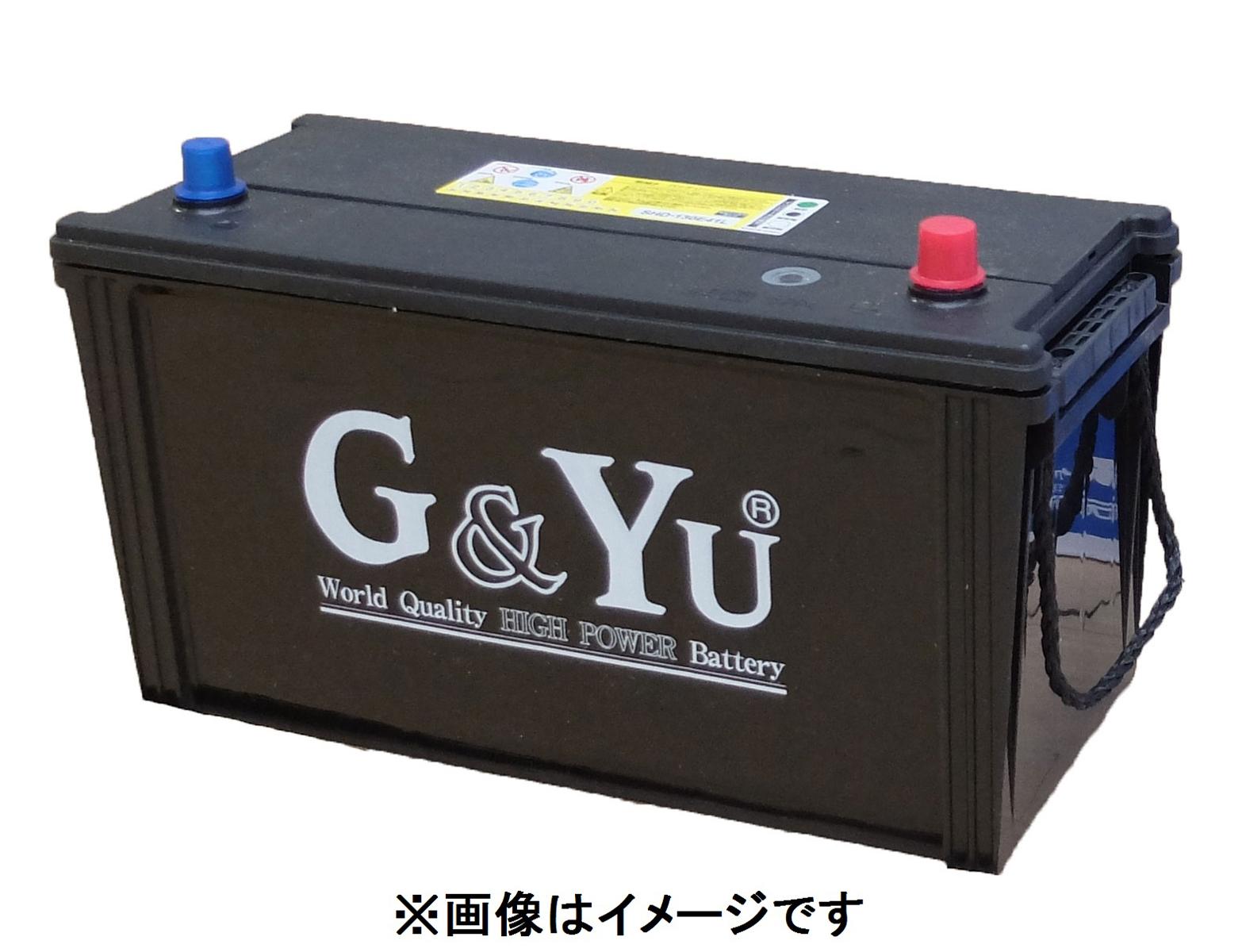 G&Yu バッテリー SHD-130E41R