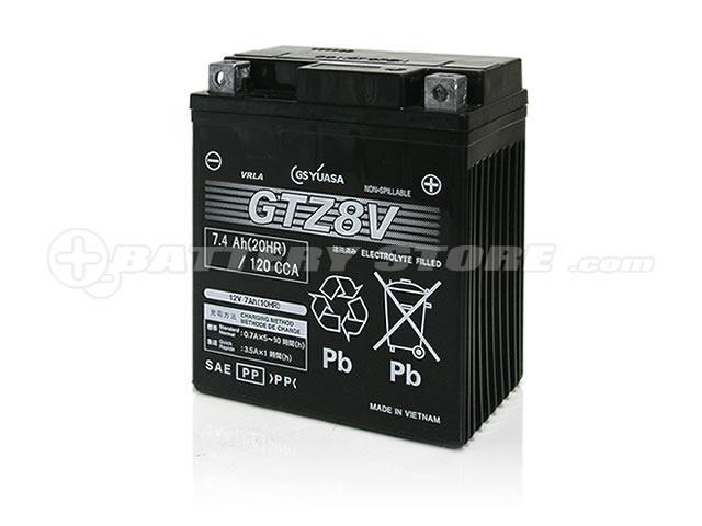 GTZ8V■■GSユアサ(YUASA)【長寿命・保証書付き】多くの新車メーカーに採用される信頼のバッテリー 【新型PCX対応】