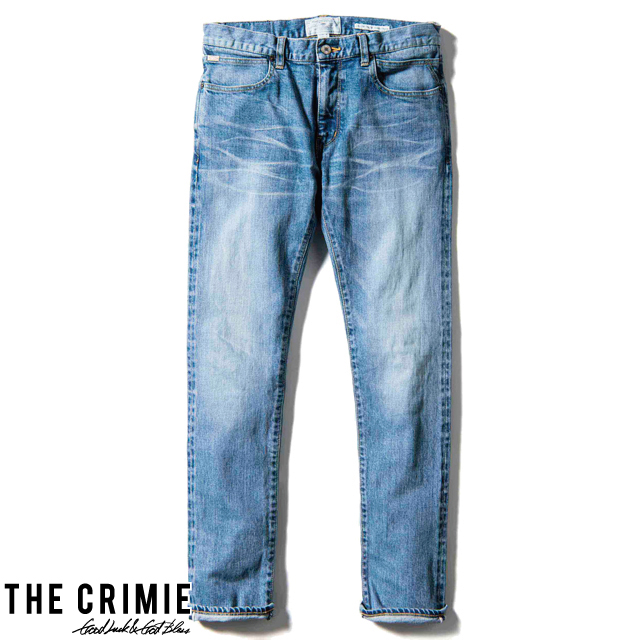 CRIMIE BORN FREE STRETCH SELVEDGE CALIFORNIA USED SLIM JEANS CRA1-BF1N-PT03 2019年秋冬