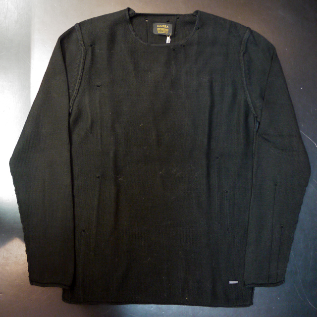 【お買い物マラソン 20倍 1114595】 GABBA ギャバ SWEATER クルーネックセーター BAILEY LIGHT O-NECK KNIT 通販 オシャレ かっこいい モテる