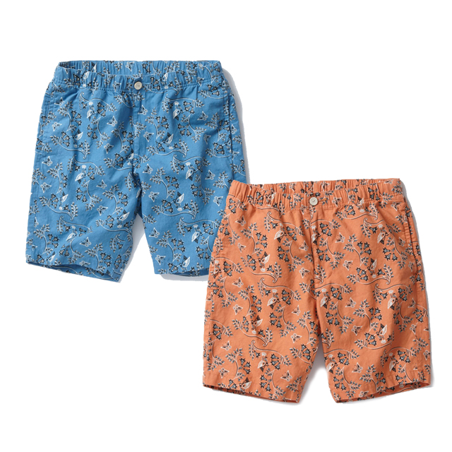 【スーパーSALE ポイント20倍 1327939】 RADIALL ラディアル SHORT PANTS ショートパンツ HAMMING BIRD SHORTS -easy pants- [RAD-16SS-PT016] 通販 オシャレ かっこいい モテる