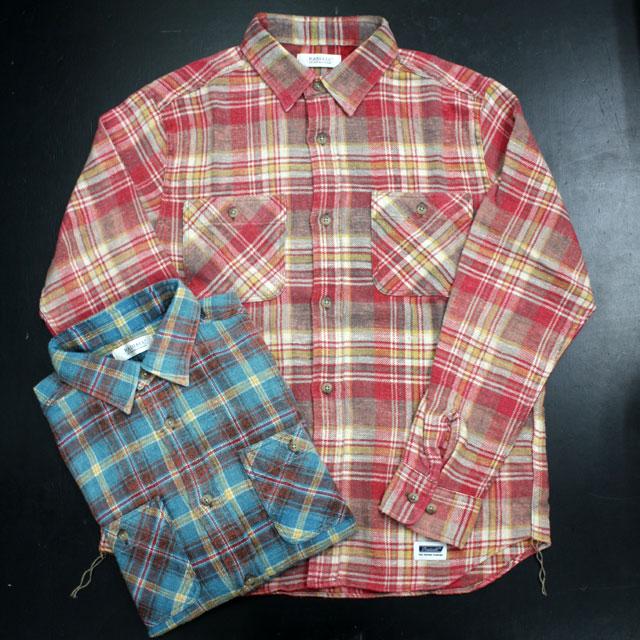 【お買い物マラソン ポイント2倍】 RADIALL ラディアル CHECK SHIRT チェックシャツ NOVA SHIRT -work shirt- [RAD-16AW-SH017] 通販 オシャレ かっこいい モテる