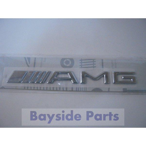 ベンツ エンブレム 「AMG」 W219 W163 W164 W463 W251 R171 等 2208170815 純正品