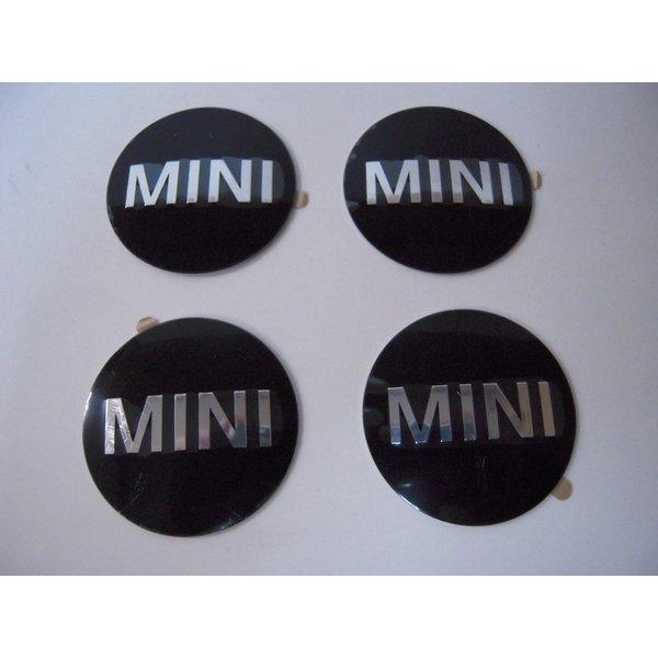 限定品 送料無料 MINI 純正 ホイールキャップバッジ エンブレム 50mm 4枚セット 36136758687 R50 R55 R58 希望者のみラッピング無料 R56 R53 R59 R52 R60 R57