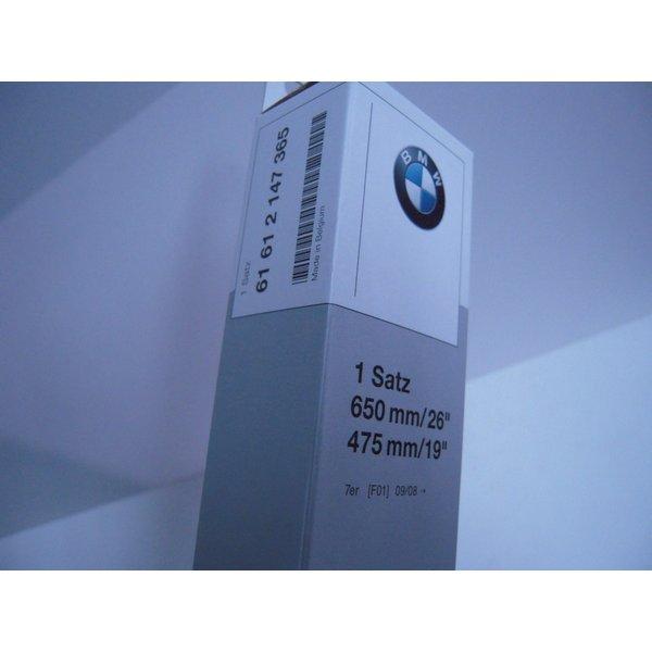 BMW 純正 7シリーズ F01 F02 ワイパーブレードセット 右 740 750用 61612147365