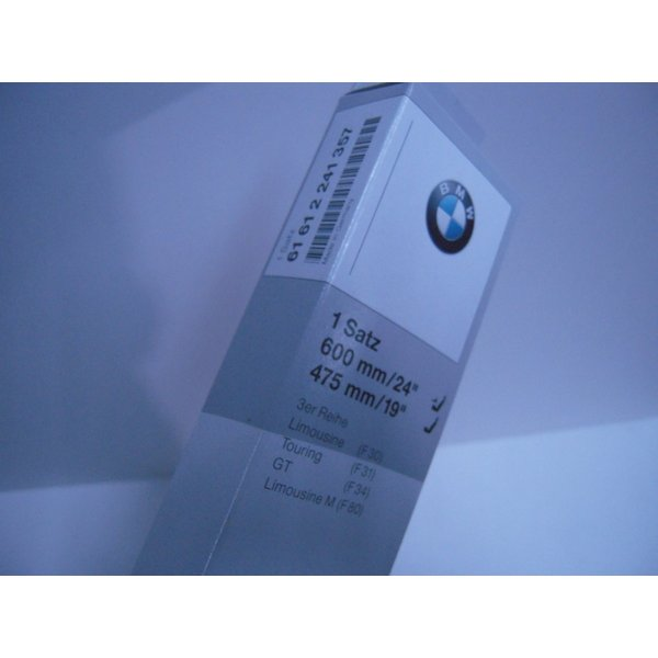 安値 BMW 純正 売店 F30 F31 61612241357 F34 右ハンドル車 フロントワイパーブレードセット
