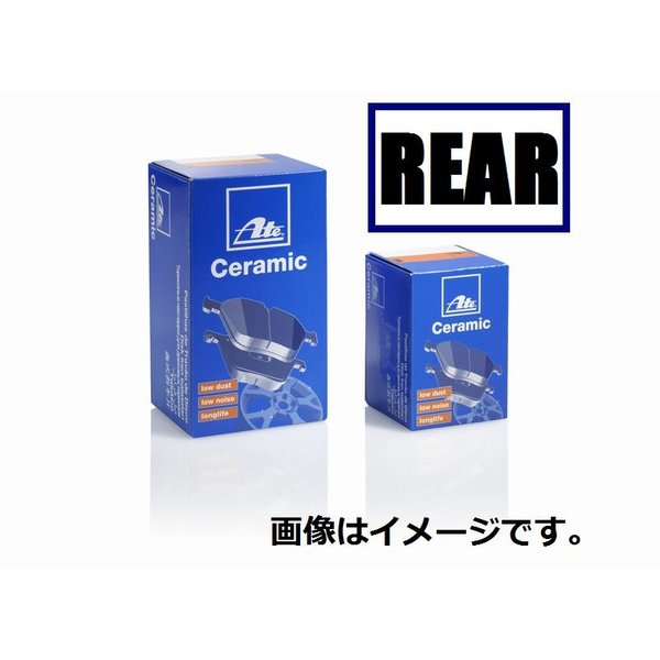 低ダスト ATE セラミック ブレーキ パッド リア メルセデスベンツ CLKクラス 209361用 ATELD4065