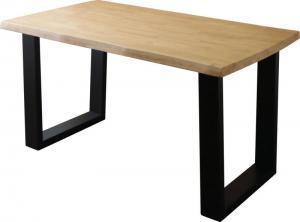 天然木無垢材ヴィンテージデザインダイニング NELL ネル ダイニングテーブル W140