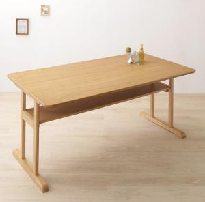 回転イス付き 北欧デザイン2本脚ダイニングテーブル woda ヴォダ ダイニングテーブル W150