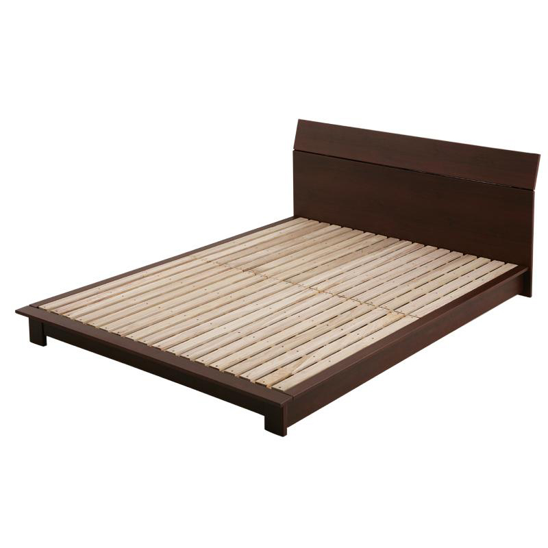 ベッド シングル シングルベッド すのこベッド デザインボード 【RECTO-low】 レクト・ロー 【フレームのみ】 シングルサイズ シングルベット
