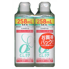 O2 C.L.ケア お買い得パック 258mLX2本入 驚きの値段で 正規品 正規認証品 新規格