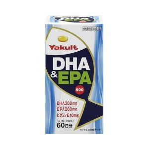 最終値下げ 【3個セット】 ヤクルト DHA【正規品】&EPA500 300粒×3個セット DHA&EPA500【正規品 ヤクルト】 ※軽減税率対応品, カイモンチョウ:f972ce57 --- coursedive.com