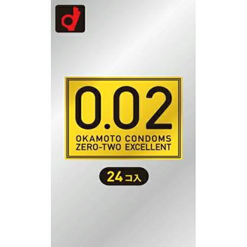 【20個セット】【送料・代引き手数料無料】 薄さ均一 002EX 24個入×20個セット 【正規品】