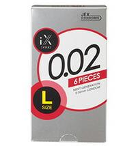 【20個セット】 JEX  iX(イクス) 0.02 LARGE 1000 6個入り×20個セット 【正規品】 ジェクス コンドーム ラージ 002 ゼロゼロ ツー