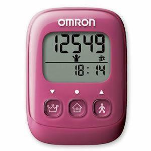 【5個セット】 オムロン 歩数計 ピンク HJ 325 PK×5個セット 【正規品】【k】【ご注文後発送までに1週間前後頂戴する場合がございます】