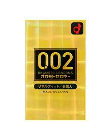 【30個セット】 オカモト ゼロツー 0.02ミリ リアルフィット 6個入り×30個セット 【正規品】