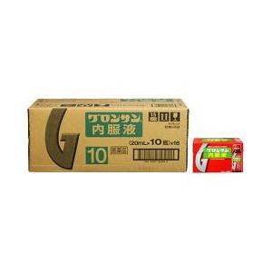 3個セット 即納 第3類医薬品 超安い グロンサン内服液 20mL 正規品 10本 ×18個入×3個セット