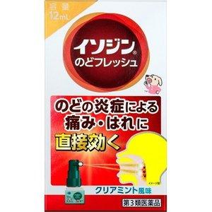 【第3類医薬品】【10個セット】 イソジンのどフレッシュ(12mL)×10個セット 【正規品】