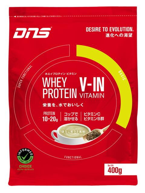 3個セット DNS プロテイン ホエイプロテイン 春の新作 定番から日本未入荷 ほうじ茶ラテ ※軽減税率対応品 正規品 ×3個セット 400g