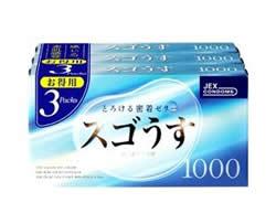 【40個セット】【1ケース分】スゴうす 1000 コンドーム  (12個入×3個パック )×40個セット 【正規品】