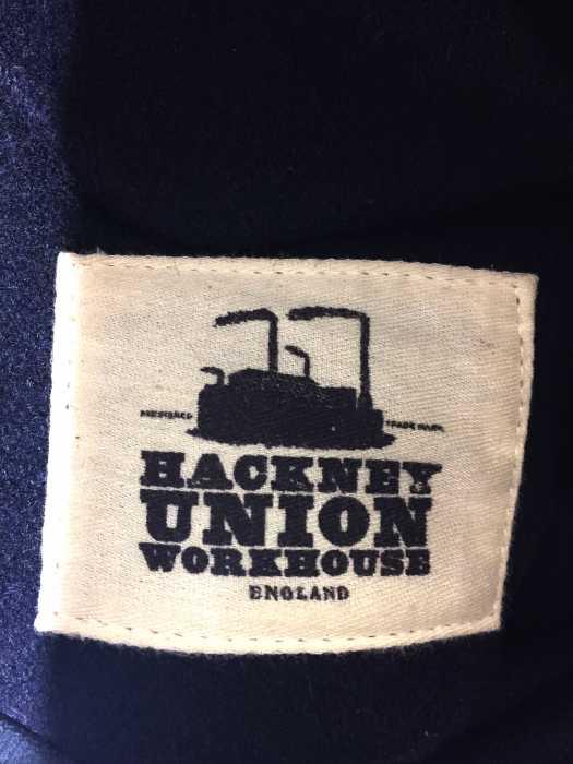 ハックニーユニオンワークハウス HACKNEY UNION WORKHOUSE チェスターコート メンズ青系 40 ウールチェスターコート ブランド古着バズストアBAZZSTORE061219TZiXuOkP